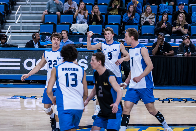 UCLA Men's Volleyball vs. Ball State @ Pauley Pavilion