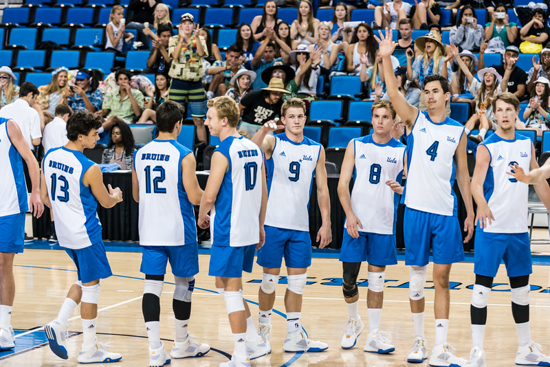 UCLA Men's Volleyball vs. Hawaii @ Pauley Pavilion