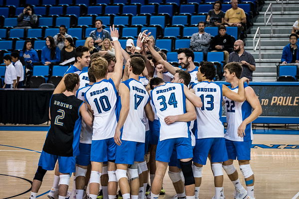 UCLA Men's Volleyball vs. Long Beach State @ Pauley Pavilion