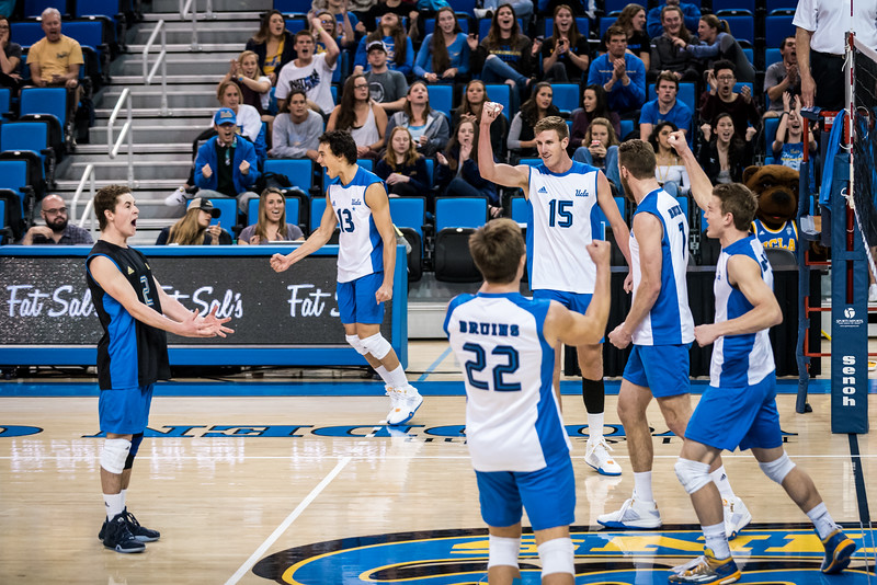 UCLA Men's Volleyball vs. Long Beach State @ Pauley Pavilion