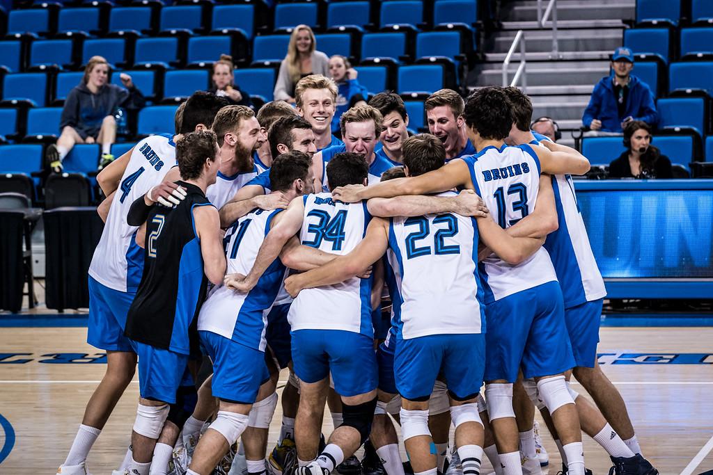 UCLA Men's Volleyball vs. Princeton @ Pauley Pavilion