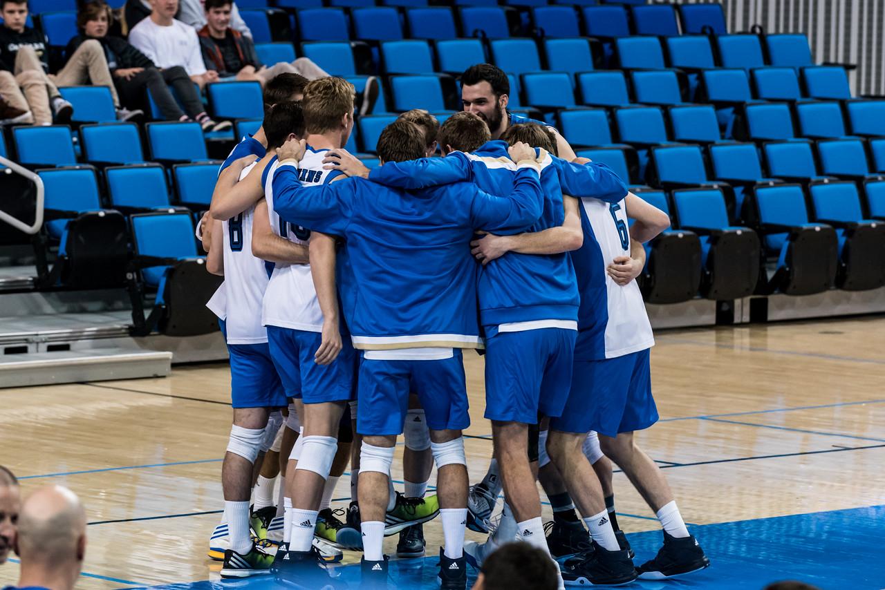UCLA Men's Volleyball vs UBC @ Pauley Pavilion