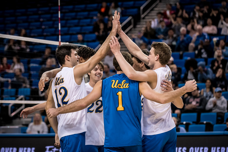 UCLA Men's Volleyball vs. Cal State Northridge @ Pauley Pavilion