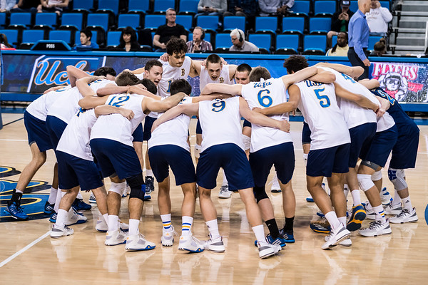 UCLA Men's Volleyball vs. Lewis @ Pauley Pavilion