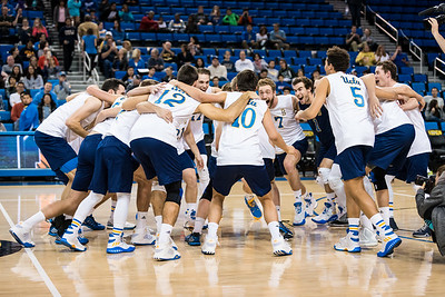 UCLA Men's Volleyball vs Princeton @ Pauley Pavilion