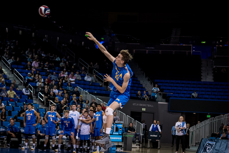 UCLA Men's Volleyball vs BYU @ NCAA Championship Semi-Final, Pauley Pavilion