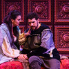 Lady Macbeth (Rochelle Bard) and Macbeth (Joshua Jeremiah)