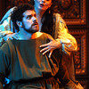 Lady Macbeth (Rochelle Bard) and Macbeth (Joshua Jeremiah):<br /> Trent Campbell, photographer