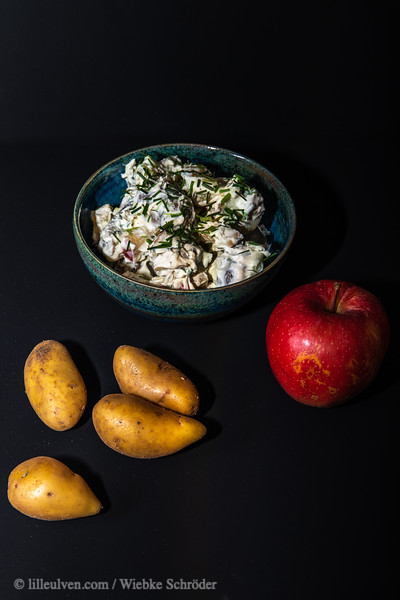Potato Salad with Apple