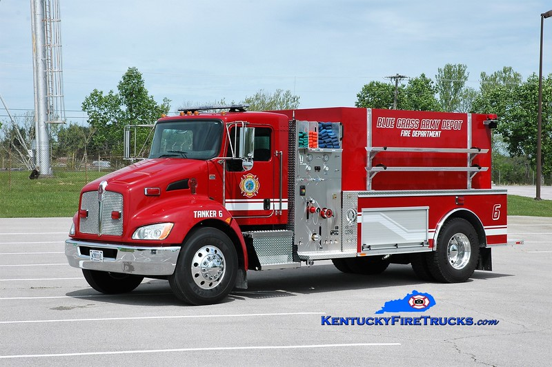 Bluegrass Army Depot  Tanker 6<br /> 2017 Kenworth T-300/Southeast 500/2000<br /> Greg Stapleton photo