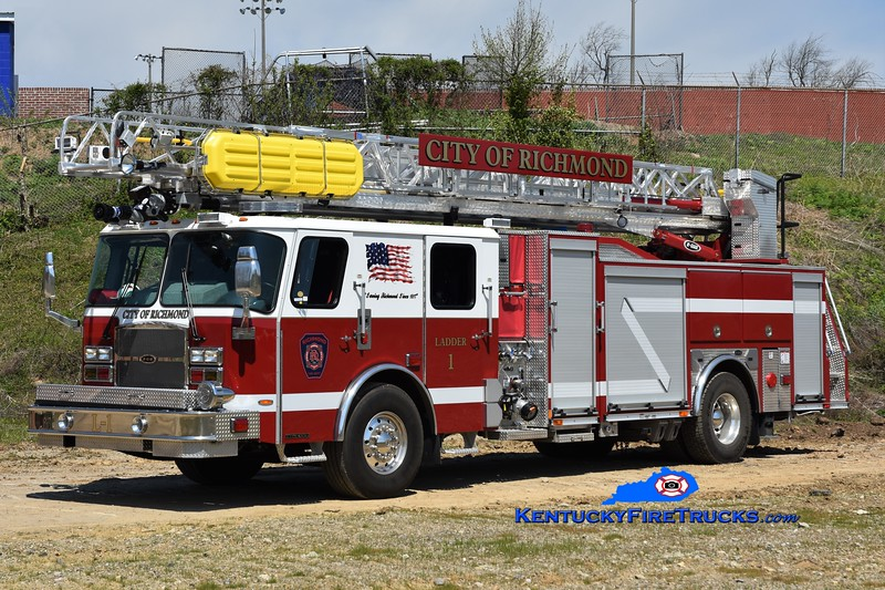 Richmond  Ladder 1<br /> 2017 E-One Typhoon eMAX 1500/470/30/78'<br /> Greg Stapleton photo