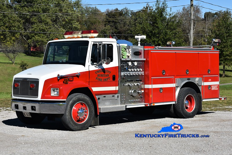 Union City Ruritan Engine 13  <br /> 2000 Freightliner FL80/E-One 1250/1000 <br /> Greg Stapleton photo