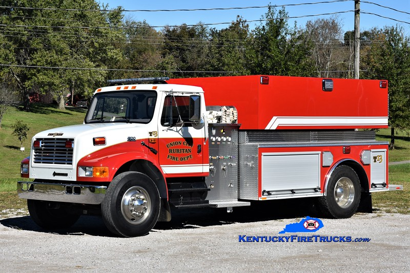 Union City Ruritan  Tanker 13<br /> 1998 International 4900/2018 Southeast Apparatus 250/1800<br /> Greg Stapleton photo