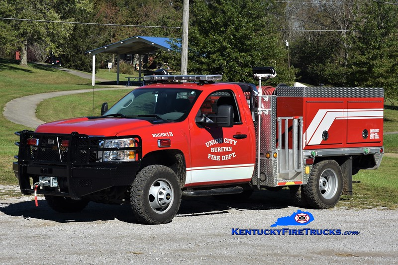 Union City Ruritan  Brush 13<br /> 2014 Chevy 3500 4x4/Southeast Apparatus 250/200<br /> Greg Stapleton photo