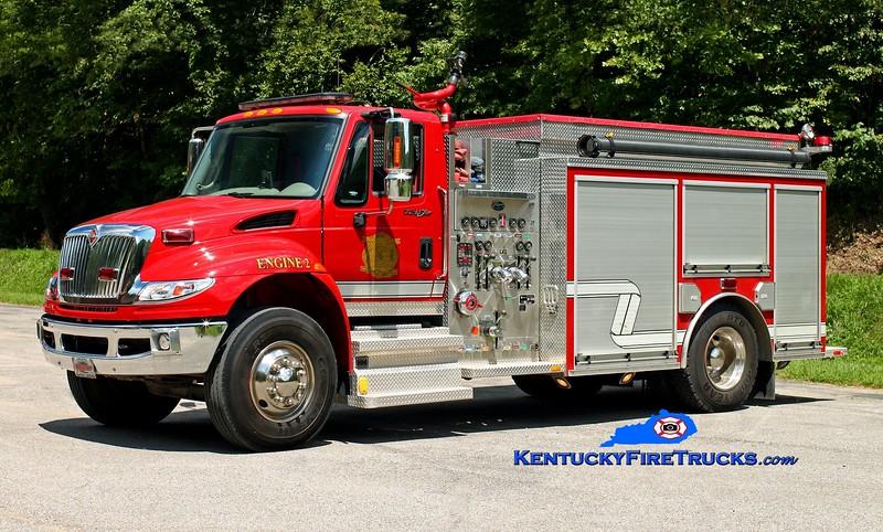 <center> District 3  Engine 2  <br> 2010 International 4400/Wynn 1250/1000 <br> Kent Parrish photo </center>