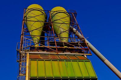 Mare Island wood tower