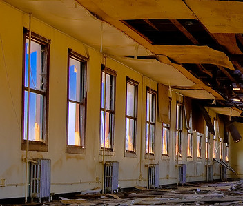 Mare Island roof falling in