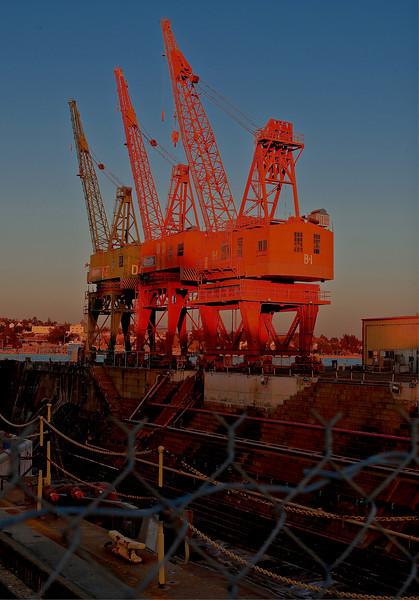 Mare Island Cranes 3 (1 of 1)