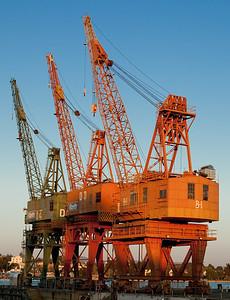 Mare Island 3 Cranes as shot-2