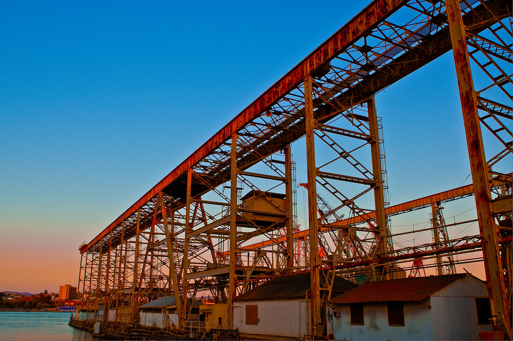 Mare Island Building Structure by Water