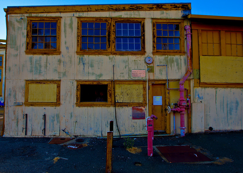 Mare Island Yellow Building