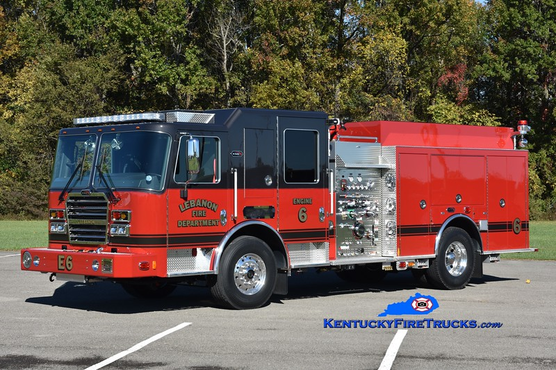 Lebanon Engine 6<br /> 2020 KME Predator 1500/750<br /> Greg Stapleton photo