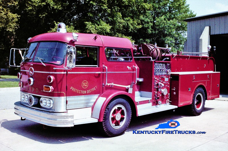 RETIRED<br /> Lebanon Engine 2<br /> x-Normandy, IL<br /> 1966 Mack C 1250/500<br /> Greg Stapleton photo
