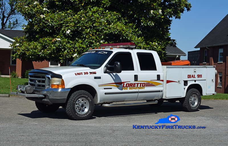 Loretto Unit 30<br /> 2005 Ford F-350 4x4/Knapheide<br /> Kent Parrish photo