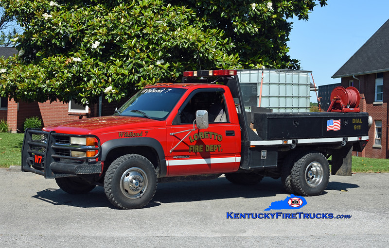 Loretto Wildland 7<br /> 1998 Chevy 3500 4x4/FD 250/250<br /> Kent Parrish photo