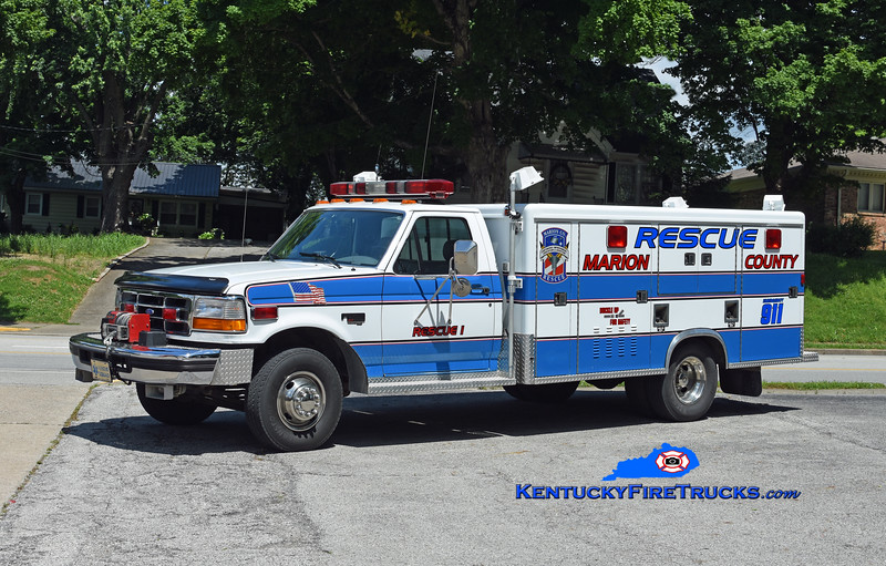 Marion County Rescue 1 <br /> 1995 Ford Super-Duty McCoy Miller<br /> Kent Parrish photo