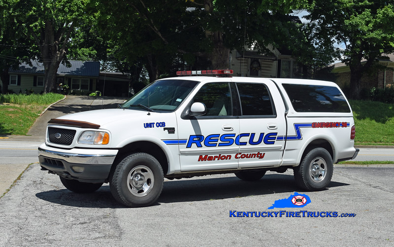 Marion County Rescue Unit 3 <br /> 2000 Ford F-150 4x4<br /> Kent Parrish photo