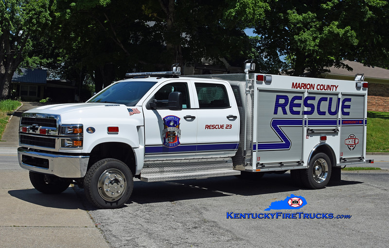 Marion County Rescue 23<br /> 2020 Chevy 5500HD/Southeast Apparatus<br /> Kent Parrish photo