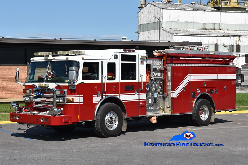 Evonik Sekisui Wacker Emergency Reponse Team<br /> x-Fairfax County, VA<br /> 2007 Pierce Dash 1500/1000/30<br /> Greg Stapleton photo