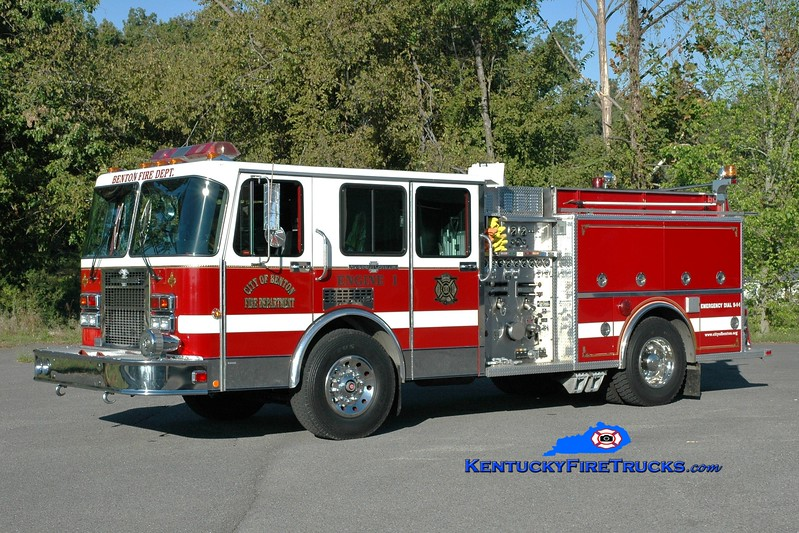 <center> Benton  Engine 1 <br> x-Hulmeville, PA <br> 1991 Spartan Gladiator/American LaFrance  <br> Greg Stapleton <br> </center>