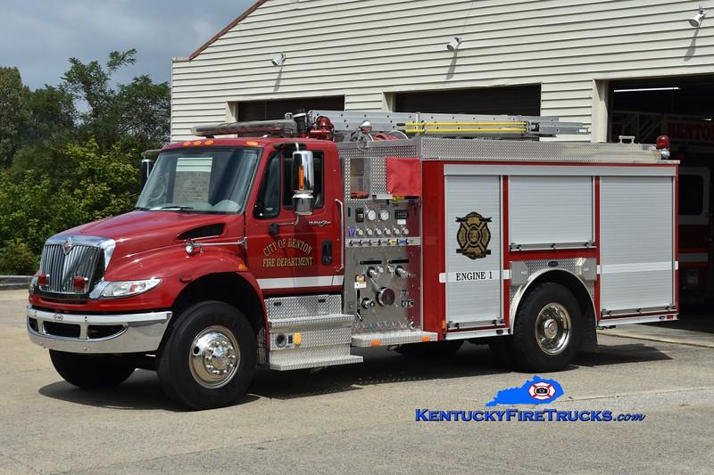 Benton Engine 1<br /> 2009 International 4400/E-One 1250/1000<br /> Greg Stapleton photo