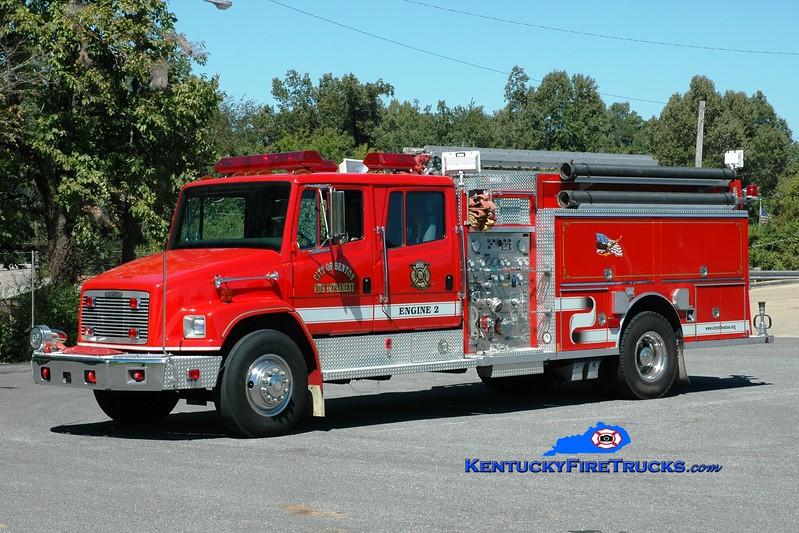 <center> Benton  Engine 2 <br> 1994 Freightliner FL80/Central States 1250/750  <br> Greg Stapleton <br> </center>