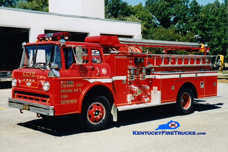 <center> Calvert City  Engine 3  <br> 1976 Ford C/American 750/500/Quad <br> Greg Stapleton photo </center>