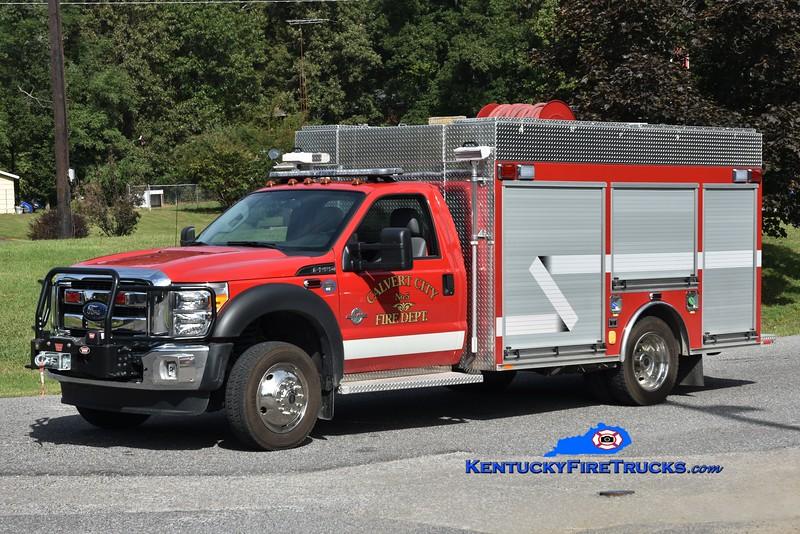 Calvert City  Rescue 5<br /> 2014 Ford F-550 4x4/Southeast 250/300/CAFS<br /> Greg Stapleton photo