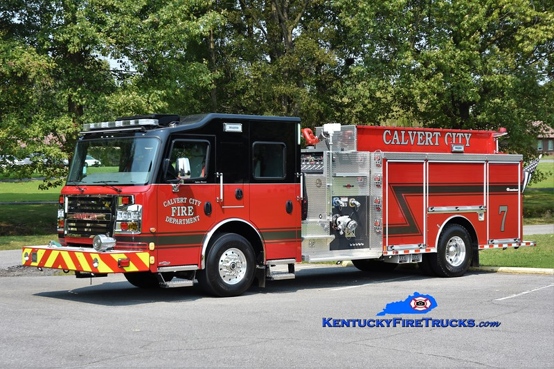Calvert City Engine 7<br /> 2020 Rosenbauer Commander 1500/1000<br /> Greg Stapleton photo