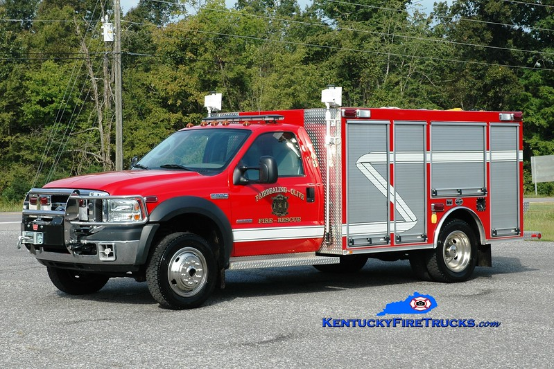 <center> RETIRED <br> Fairdealing-Olive  Rescue 703 <br> 2004 Ford F-550 4x4/Wynn 250/300 <br> Greg Stapleton <br> </center>