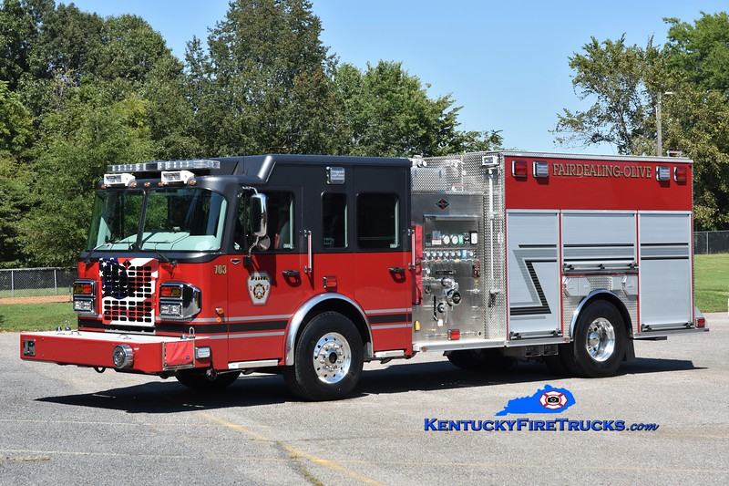 Fairdealing-Olive  Engine 703<br /> 2018 Spartan Metro Star ER 1500/1000/30<br /> Greg Stapleton photo