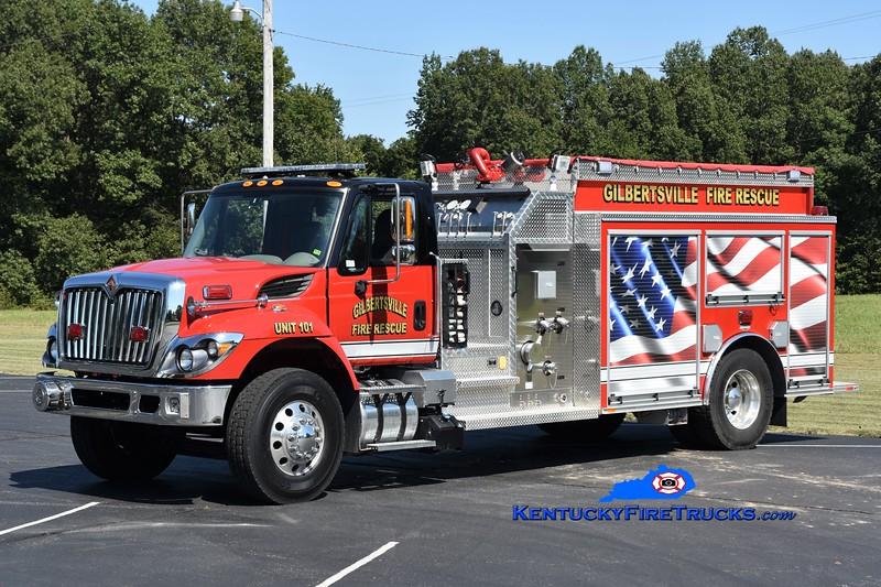 Gilbertsville  Engine 101<br /> 2017 International 7300/Southeast 1250/1200<br /> Greg Stapleton photo
