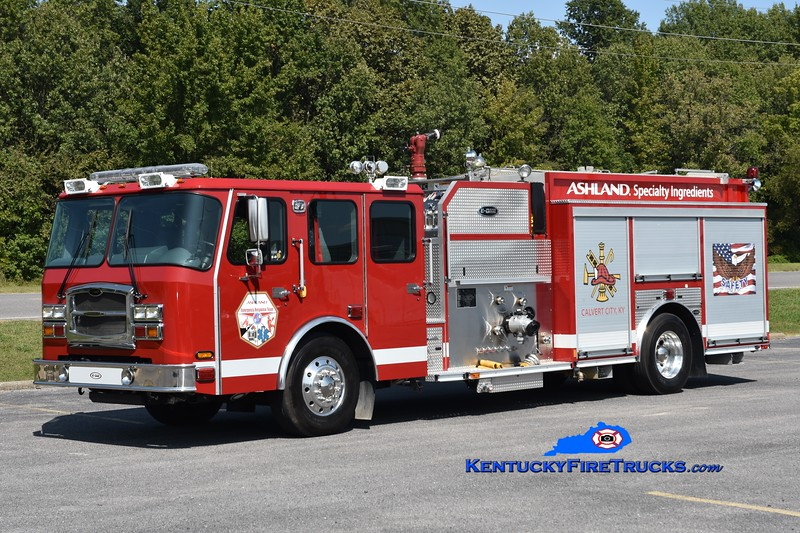 Ashland Specialty Ingredients Engine Engine 1<br /> 2012 E-One Typhoon 1500/300/500F<br /> Greg Stapleton photo