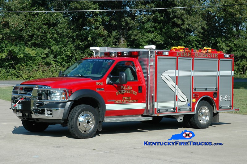 <center> Palma-Briensburg  Rescue 506 <br> 2005 Ford F-550 4x4/Wynn 125/250/CAFS <br> Greg Stapleton photo </center>