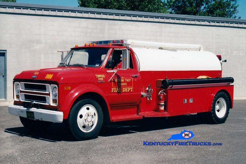 <center> RETIRED <br> Possum Trot/Sharpe  Tanker 1106 <br> 1970 Chevy/Local 250/1000 <br> Greg Stapleton <br> </center>