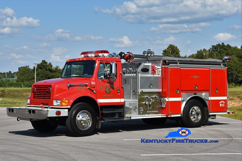 South Marshall  Pumper 94<br /> x-Hardin-South Marshall, KY<br /> 2000 International 4900/E-One 1250/1000<br /> Greg Stapleton photo