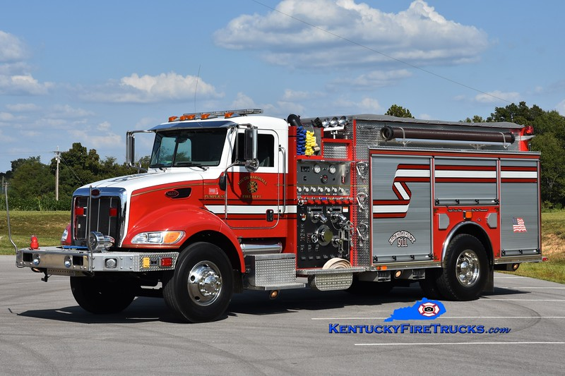South Marshall  Pumper 93<br /> x-Hardin-South Marshall, KY<br /> 2006 Peterbilt/Red Diamond 1250/1500<br /> Greg Stapleton photo