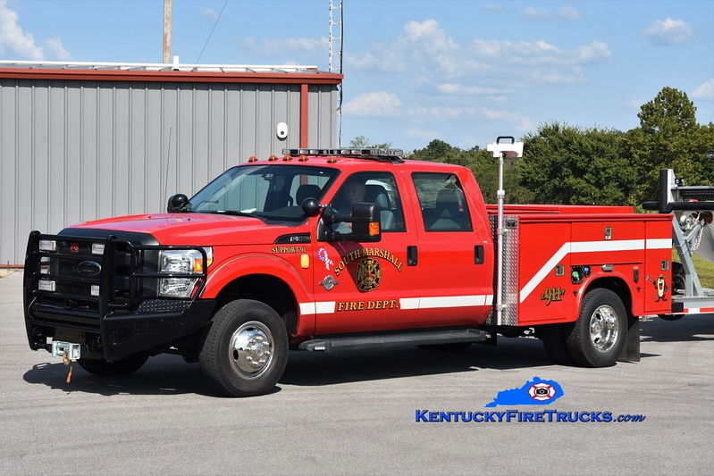 South Marshall  Support 91<br /> x-Aurora Ross, KY<br /> 2010 Ford F-350/Knapheide Boat Tender<br /> Greg Stapleton photo