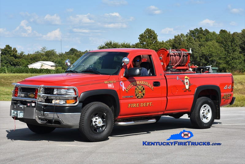 South Marshall  Brush 91<br /> x-Aurora Ross, KY<br /> 2002 Chevy 2500 4x4/FD 250/250<br /> Greg Stapleton photo