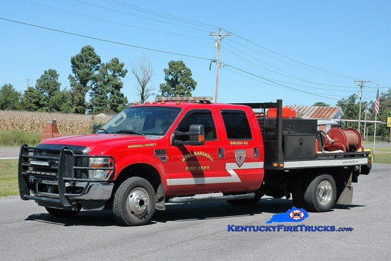 West Marshall  Brush 82<br /> 2008 Ford F-350 4x4/FD 250/250<br /> Greg Stapleton photo